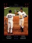 2007 Topps #327   -  Bobby Abreu / Derek Jeter Classic Combo Front Thumbnail