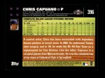 2007 Topps #396  Chris Capuano  Back Thumbnail