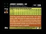 2007 Topps #339  Jonny Gomes  Back Thumbnail