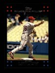 2007 Topps #350  Chase Utley  Front Thumbnail