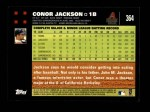 2007 Topps #364  Conor Jackson  Back Thumbnail