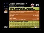2007 Topps #321  Johan Santana  Back Thumbnail