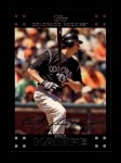 2007 Topps #385  Brad Hawpe  Front Thumbnail