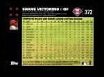 2007 Topps #372  Shane Victorino  Back Thumbnail