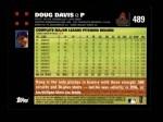 2007 Topps #489  Doug Davis  Back Thumbnail
