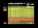2007 Topps #498  Jarrod Washburn  Back Thumbnail