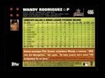 2007 Topps #486  Wandy Rodriguez  Back Thumbnail