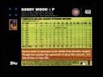 2007 Topps #468  Kerry Wood  Back Thumbnail