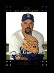 2007 Topps #471  David Wells  Front Thumbnail
