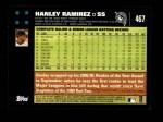 2007 Topps #467  Hanley Ramirez  Back Thumbnail