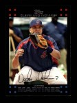 2007 Topps #434  Victor Martinez  Front Thumbnail