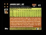 2007 Topps #411  Jason Bay  Back Thumbnail