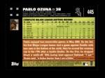 2007 Topps #445  Pablo Ozuna  Back Thumbnail