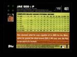 2007 Topps #461  Jae Seo  Back Thumbnail