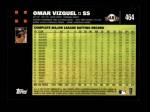 2007 Topps #464  Omar Vizquel  Back Thumbnail