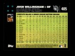 2007 Topps #405  Josh Willingham  Back Thumbnail