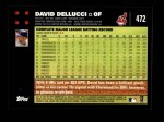 2007 Topps #472  David Dellucci  Back Thumbnail