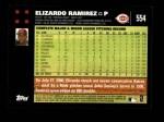 2007 Topps #554  Elizardo Ramirez  Back Thumbnail