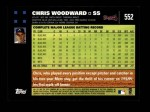 2007 Topps #552  Chris Woodward  Back Thumbnail