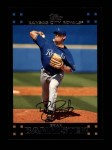 2007 Topps #587  Brian Bannister  Front Thumbnail