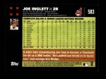 2007 Topps #583  Joe Inglett  Back Thumbnail