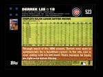 2007 Topps #523  Derrek Lee  Back Thumbnail