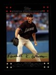2007 Topps #560  Randy Johnson  Front Thumbnail