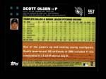 2007 Topps #557  Scott Olsen  Back Thumbnail
