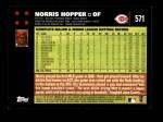 2007 Topps #571  Norris Hopper  Back Thumbnail