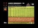 2007 Topps #590  Lance Berkman  Back Thumbnail