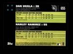 2007 Topps #655   -  Dan Uggla / Hanley Ramirez Classic Combo Back Thumbnail
