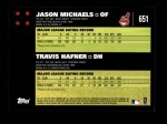 2007 Topps #651   -  Jason Michaels / Travis Hafner Classic Combo Back Thumbnail