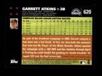 2007 Topps #620  Garrett Atkins  Back Thumbnail