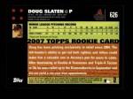2007 Topps #626  Doug Slaten  Back Thumbnail
