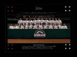 2007 Topps #601   Colorado Rockies Front Thumbnail
