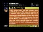 2007 Topps #613  Buddy Bell  Back Thumbnail
