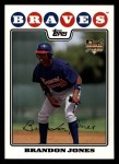 2008 Topps #126  Brandon Jones  Front Thumbnail