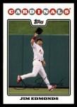 2008 Topps #192  Jim Edmonds  Front Thumbnail