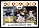 2008 Topps #181  Joe Borowski  Front Thumbnail