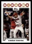 2008 Topps #179  Chris B. Young  Front Thumbnail