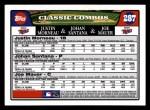 2008 Topps #287  Justin Morneau / Johan Santana / Joe Mauer  Back Thumbnail