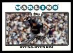 2008 Topps #264  Byung-Hyun Kim  Front Thumbnail