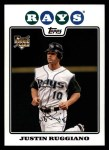 2008 Topps #289  Justin Ruggiano  Front Thumbnail