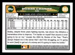 2008 Topps #351  Bobby Crosby  Back Thumbnail
