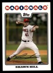 2008 Topps #307  Shawn Hill  Front Thumbnail
