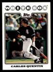 2008 Topps #384  Carlos Quentin  Front Thumbnail