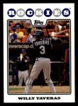 2008 Topps #376  Willy Taveras  Front Thumbnail