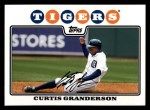 2008 Topps #330  Curtis Granderson  Front Thumbnail