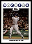 2008 Topps #458  Brad Hawpe  Front Thumbnail