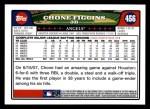 2008 Topps #456  Chone Figgins  Back Thumbnail